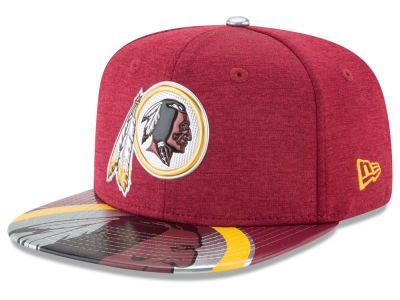 cc82d51f0 Washington Redskins New Era 2017 NFL Draft 9FIFTY Snapback Cap ...