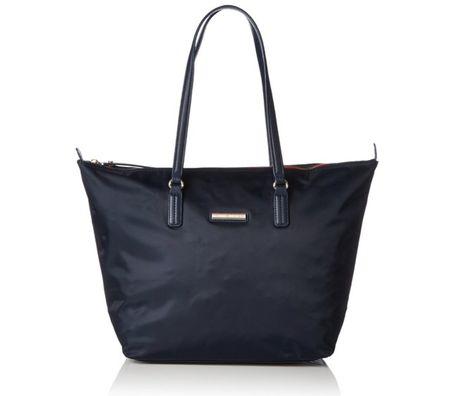Tasche Handtasche Shoppen Damen Midnight Blue Blau Dunkelblau Tommy Hilfiger Geschenk Style Fashion Shopping Sale Poppy Tote Kleidung Accessoires