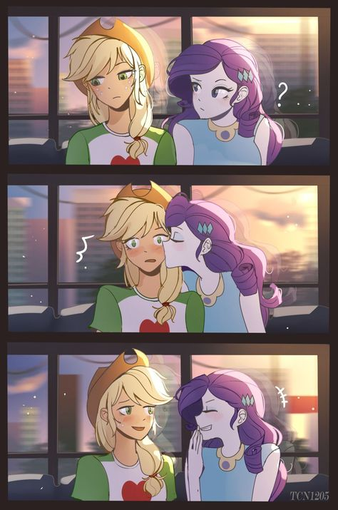 Just want to make you smile by LooknamTCN on DeviantArt Your Smile, Make You Smile, My Little Pony Comic, Mlp Pony, Cute Comics, Rarity, Equestria Girls, Deviantart, Drawings