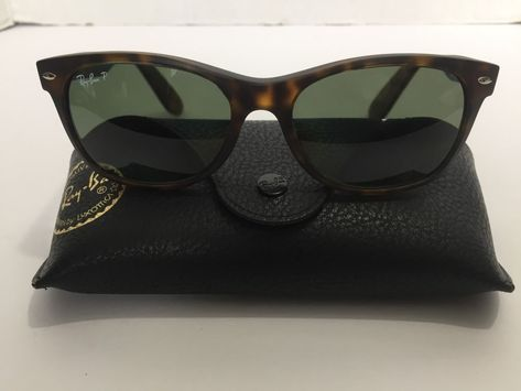 d577444e54 Ray-Ban RB 2132 New Wayfarer Prescription Eye Glasses Signature Black Hard  Case