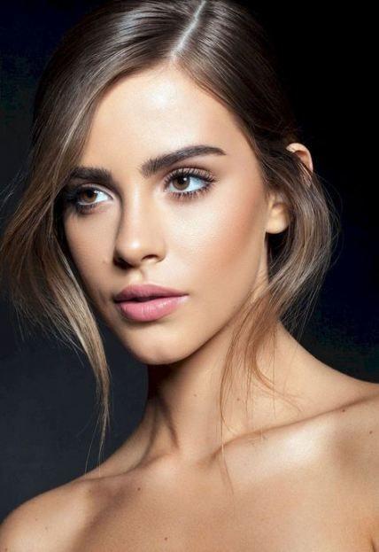50 Trendy Makeup Wedding Natural Brunettes Brown Eyes Bridal Makeup Natural Brunette Makeup Natural Makeup For Brown Eyes
