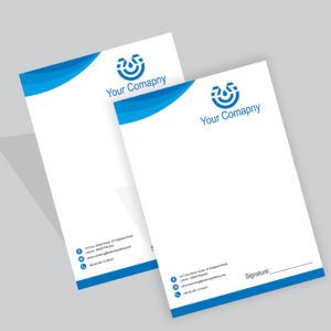 Letterhead Printing Online Pakistan Custom Business Letterhead Design Get Professionally Designe Letterhead Printing Letterhead Design Free Letterhead Design