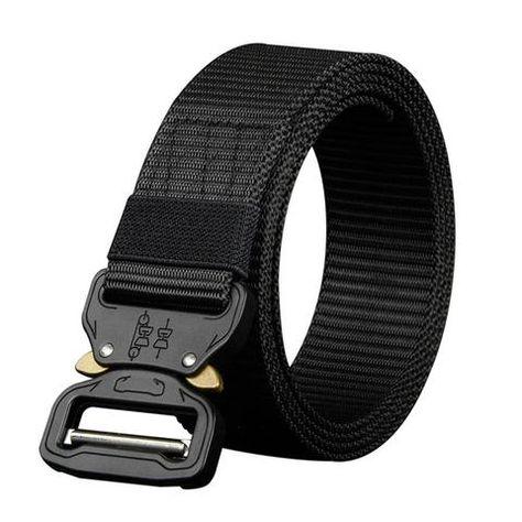 Mens Canvas Belt Nylon Belt Outdoor multifunctional Training Belt Strap ceintures Jeans Belt Unisex