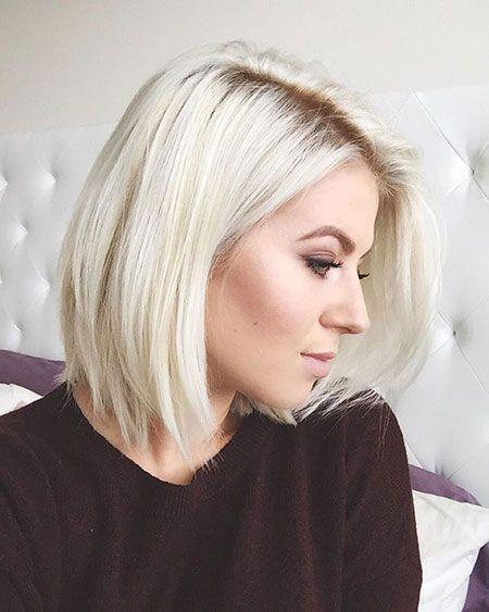 Top 33 Short Platinum Blonde Hairstyles Ideas For 2018 Frisuren