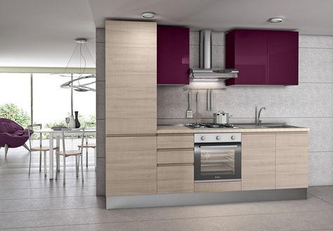 Cucina Sesamo Zafferano K11 | Cucine Moderne nel 2019 ...