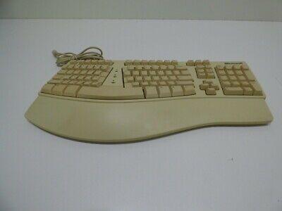 Vintage Microsoft Ergonomic Natural Keyboard Elite In 2020 Computer Keyboard Computer Keyboard