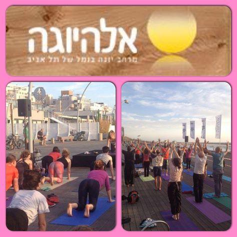 Free Yoga class in Namal Tel Aviv