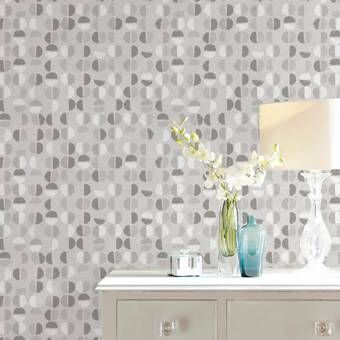 Liljenquist 31 1 X 31 1 Peel And Stick Vinyl Wall Paneling In White Wallpaper Roll Vinyl Wall Panels Peel And Stick Wallpaper
