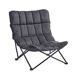 Quilted Oversized Folding Lounger Bed Bath Beyond Chair