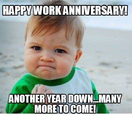 Work Anniversary Biooil Love Memes For Him Congratulations Quotes New Year Meme