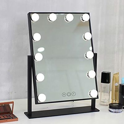 Advertisement Fenchilin Lighted Makeup Mirror Hollywood Mirror