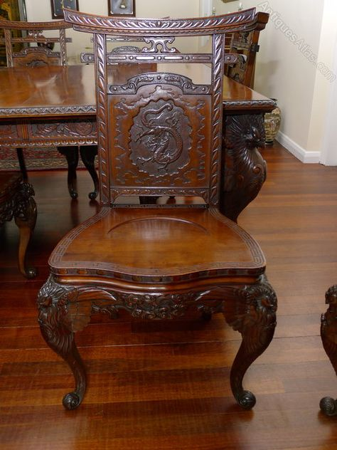 Quality 19th C Japanese Dining Table And Chairs Japanese Dining Table Antique Dining Tables Table Chairs