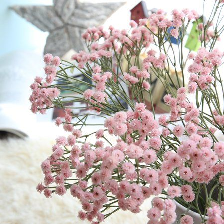 Free Shipping Buy Tuscom Artificial Silk Fake Flowers Baby S Breath Floral Wedding Bouquet Party Diy Wedding Bouquet Wedding Flowers Birthday Flowers Bouquet