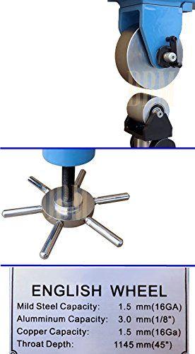 Amazon Com English Wheel 45 Throat Planishing Hammer Anvil Shrinker Shaping Sheet Metal 16 Garden Waterproof Metal Detector English Wheel Metal Detector
