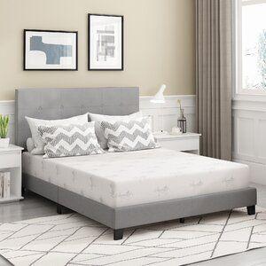 Pin By Adhelia Razak On Desain In 2021 Bed Frame Mattress Sizes Gel Memory Foam Mattress