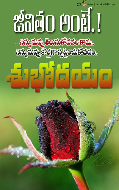 Incredible Telugu Quotes Good Morning Quotes In Telugu Heart Touching Good Personalised Birthday Cards Bromeletsinfo