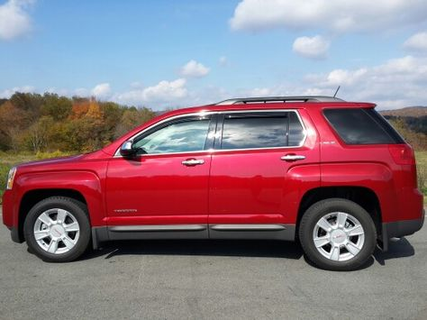 2013 Gmc Terrain In Crystal Red Tincoat All Shined Up Gmc