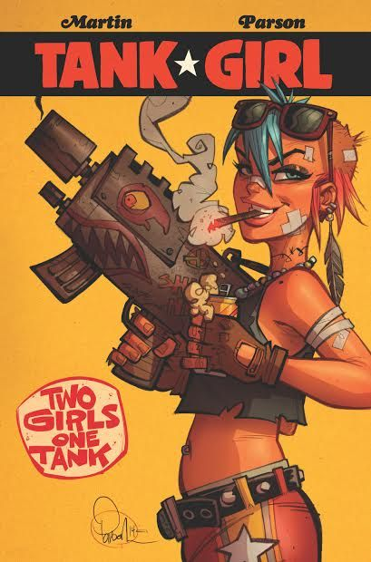 The Retailer Exclusive Covers For Tank Girl: Two Girls One Tank