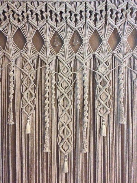 Extra Large Macrame Wall Hanging, Tapestry, Wedding Backdrop, Wedding Decor, Bohemian Decor, Boho Decor, Macrame Curtain