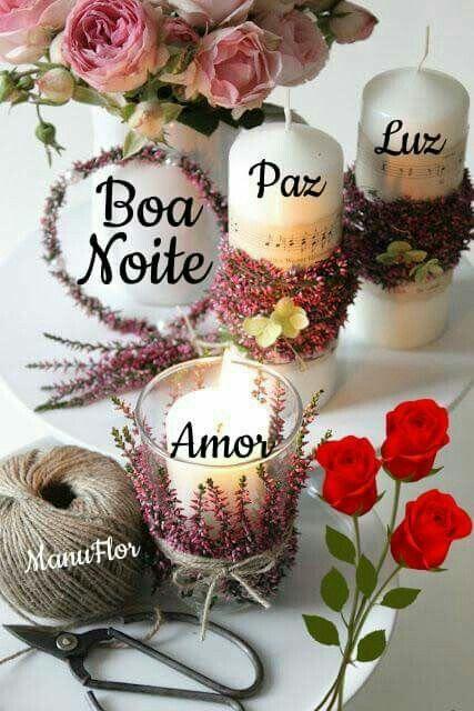 Boa Noite Quadro Boa Noite Paz Luz Amor Boa Noite Com