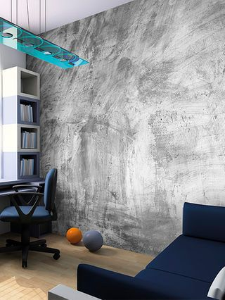 Concrete Wall Mural By Brewster At Gilt Wall Murals Concrete Wall Concrete Wallpaper