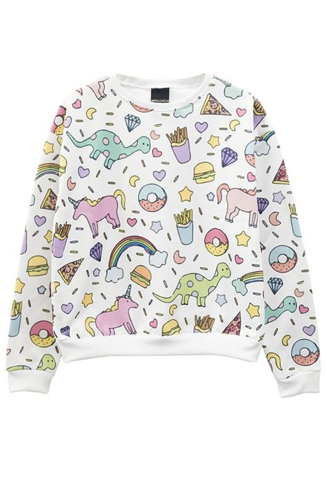 Hey, I found this really awesome Etsy listing at https://www.etsy.com/uk/listing/228937689/unicorn-sweater-jumper-top-t-shirt