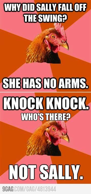 A Double Shot Of Anti Joke Chicken Anti Jokes Corny Jokes Chicken Jokes