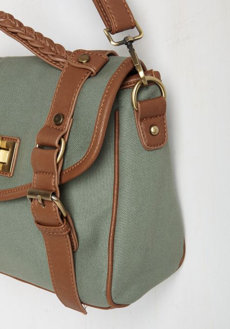 Learn From Experience Bag. With this canvas bag in tow and your curiosity at its peak, you become a pupil of nature. #green #modcloth