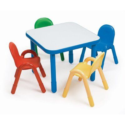 Angeles Baseline 30 Square Activity Table Table Table Chairs