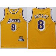 1e8e52cf8b8f NBA Los Angeles Lakers Jersey   Kobe Bryant  8 Throwback Stitched Men s  Gold Jersey