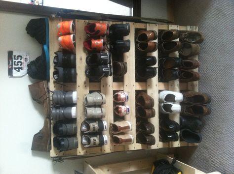 Meuble a chaussure en bois de palette Rejoignez moi sur facebook