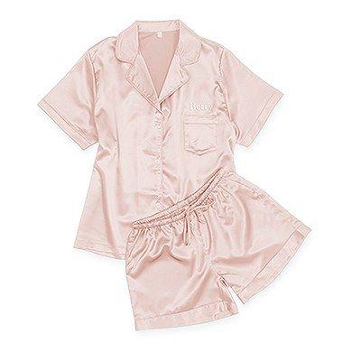 Bridesmaid Gift Personalised Bridesmaid Gift Embroidered 100/% Cotton Pyjamas