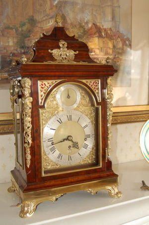 Bracket Clock By John Ellicott London