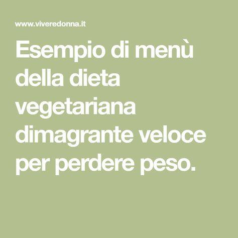 Dieta vegetariana dimagrante invernaleno