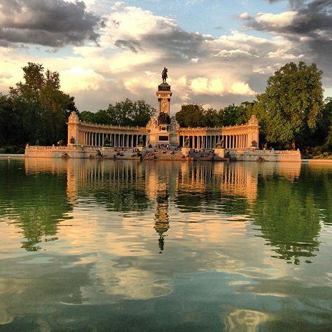 Parque del Retiro en Madrid, Madrid