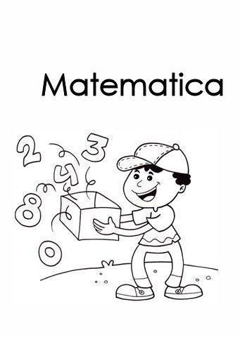 Fancy Portada Matematicas Para Colorear 48 For Child With Portada