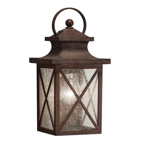 Shop Kichler Lighting Haven 12.99 in H Olde Brick Outdoor