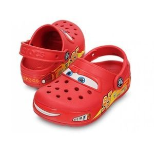 Crocs Red Croclights Lightning McQueen