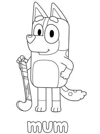 Bluey Coloring Pages Animationsa2z Happy Birthday Coloring Pages Birthday Coloring Pages Kids Colouring Printables