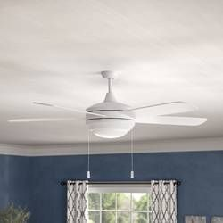 52 Everson 5 Blade Ceiling Fan Light Kit Included Ceiling Fan Led Ceiling Fan Living Room Ceiling Fan