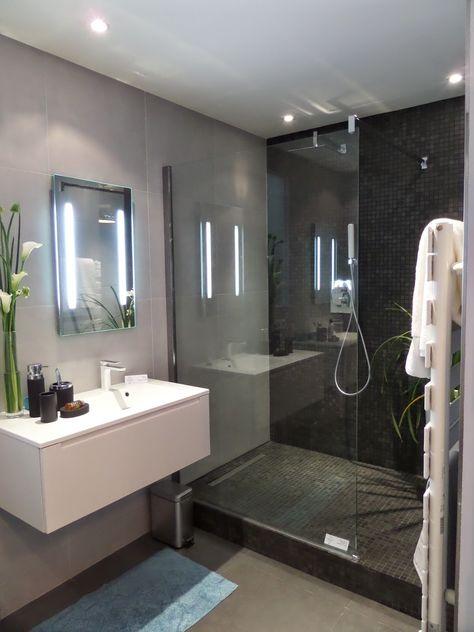 idee salle de bain petit espace meuble salle de bain | Salle d\'eau ...