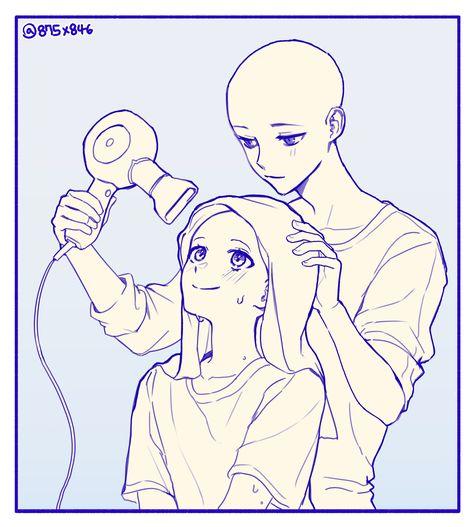 Cute Drawings, Cartoon Art Styles, Art Drawings Sketches, Sketches, Anime Poses, Anime Drawings Tutorials, Drawing Base, Drawing Expressions, Anime Poses Reference