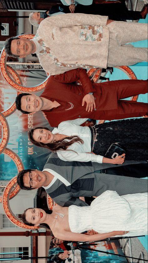 Shang Chi cast wallpaper