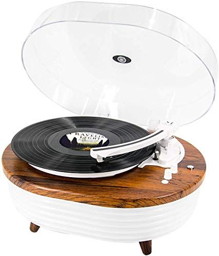 Record Player Vintage 2 Speed Bluetooth Turntable With Built In Stereo Speaker 6 Lighting Modes Vinyl Record P In 2020 Vinyl Records Vinyl Record Player Vinyl Player