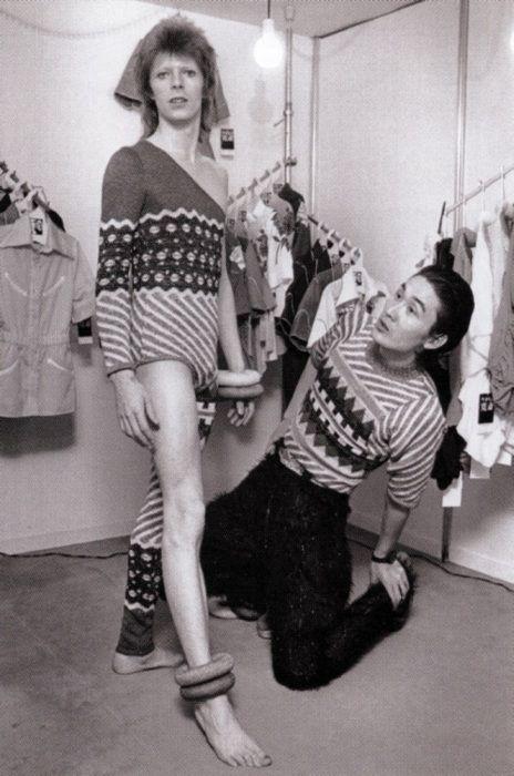 Luiferiga: Kansai Yamamoto, el diseñador de Bowie