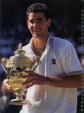 1995 Winner Pete Sampras Pete Sampras Tennis Champion Tennis