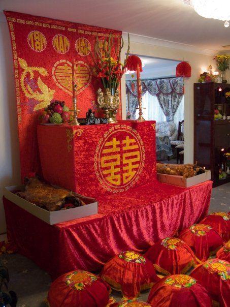 Chinese Vietnamese Tea Ceremony Set Outdoor Pinterest Teas And Wedding