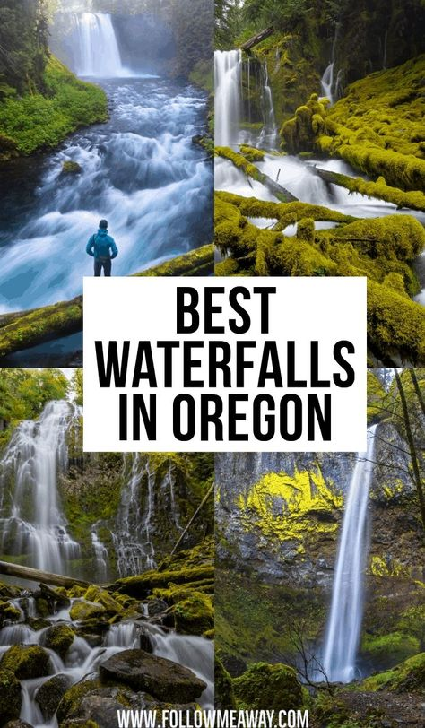 Best Waterfalls In Oregon   prettiest waterfalls in Pacific Northwest   best places to visit in Oregon   best places to go in Oregon   beautiful waterfalls in Oregon   vacation destinations in Oregon   hiking spots in Oregon   best views in Oregon   best lookout points in Oregon   travel to Oregon like a pro #Oregon #traveltips #travelguide