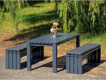 Gartentisch Holz 3 Ogrod