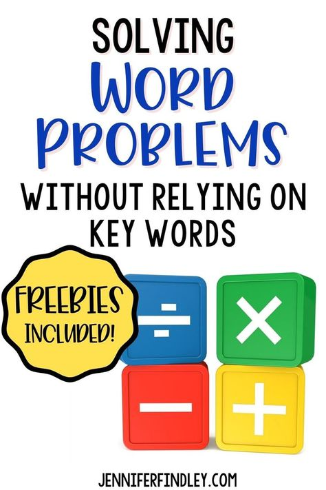 Solving Word Problems Without Using Key Words